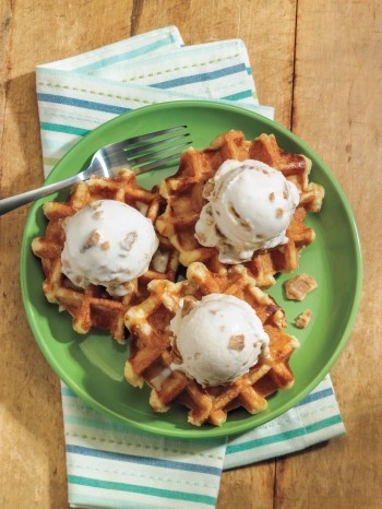you never thought to add Fried chicken to your ice cream…we're not sure if it's a good or bad thing.