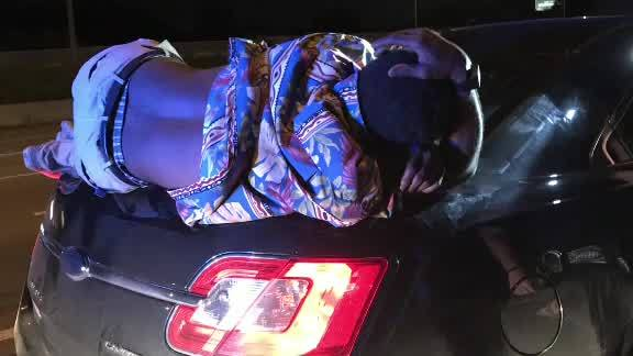 No Joke: Couple Unknowingly Drives With Body On Their Car Trunk