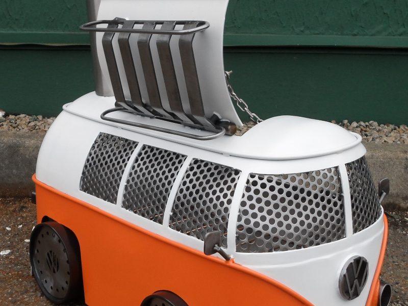 Amazing Handcrafted Volkswagen Campervan BBQ – How Cool Is That!