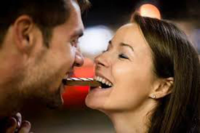 What Stimulates Love More: a Kiss or Chocolate?