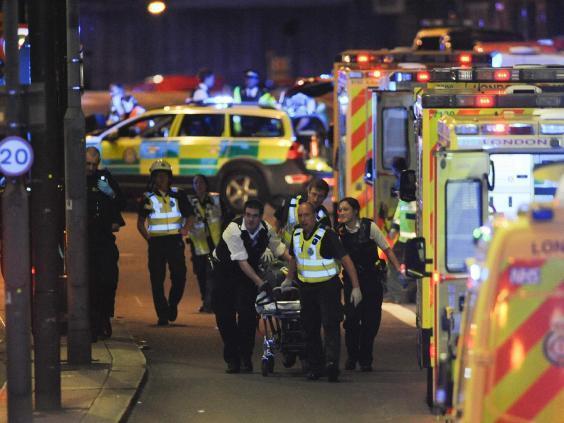 Terror Attacks Near London Bridge