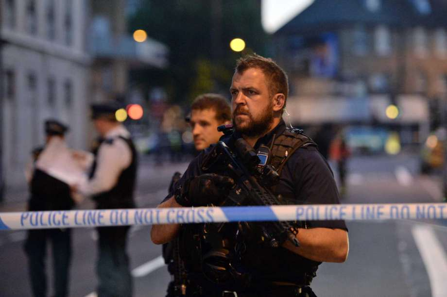 Man plows van into crowd near London mosque; 1 dead and 10 injured. Terrorism suspected