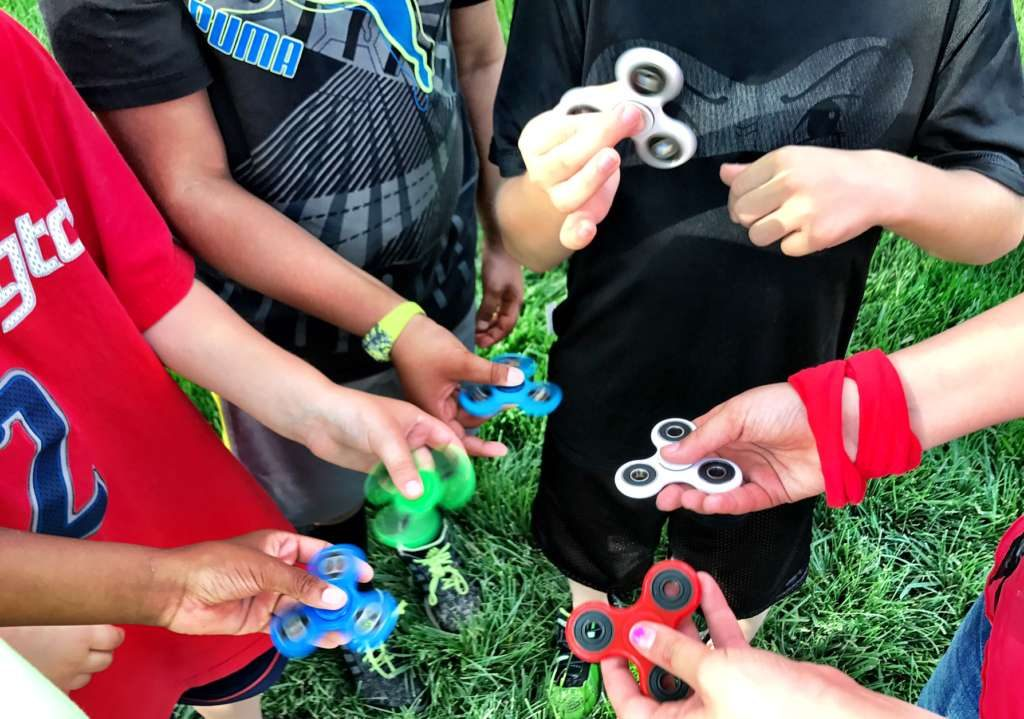 Mom says a fidget spinner nearly killed her kid