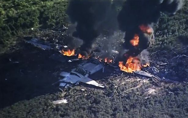 At least 16 dead after US military plane crashes in Mississippi field