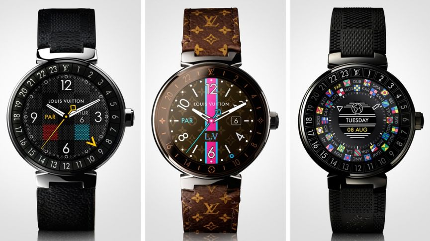 Louis Vuitton launches Tambour Horizon Android Wear smartwatch collection