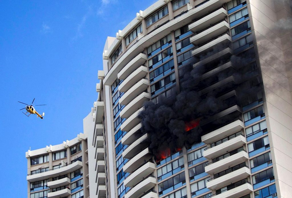 3 dead, 12 injured after blaze breaks out in a Honolulu high-rise building