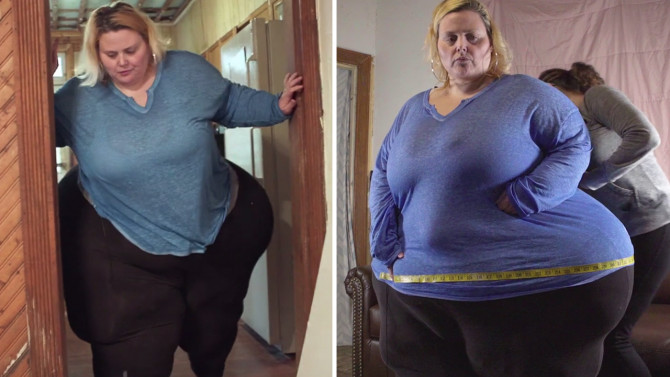 Woman with 95-inch hips is determined to break a world record– even though she knows it could KILL her