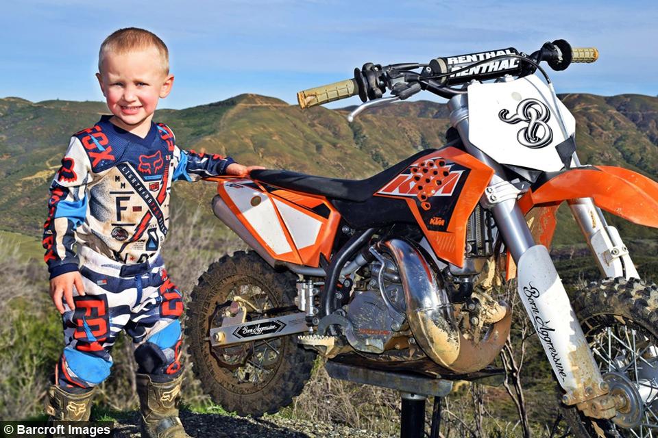 WATCH: 4-Year-Old Biker Is A Motocross Superstar