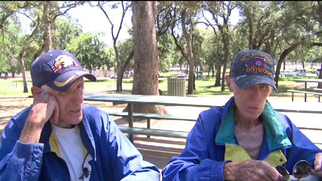 'I'd rather go back to the war': 84-year-old twins homeless after foreclosure