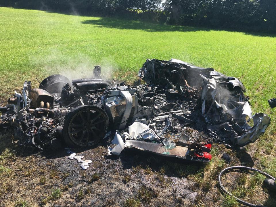 Man Wrecks New Ferrari Just 1 Hour After Buying