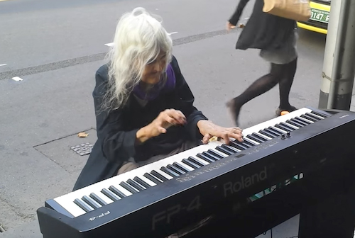 Natalie …. the piano player from Melbourne, Australia!! It Sounds Straight From Heaven