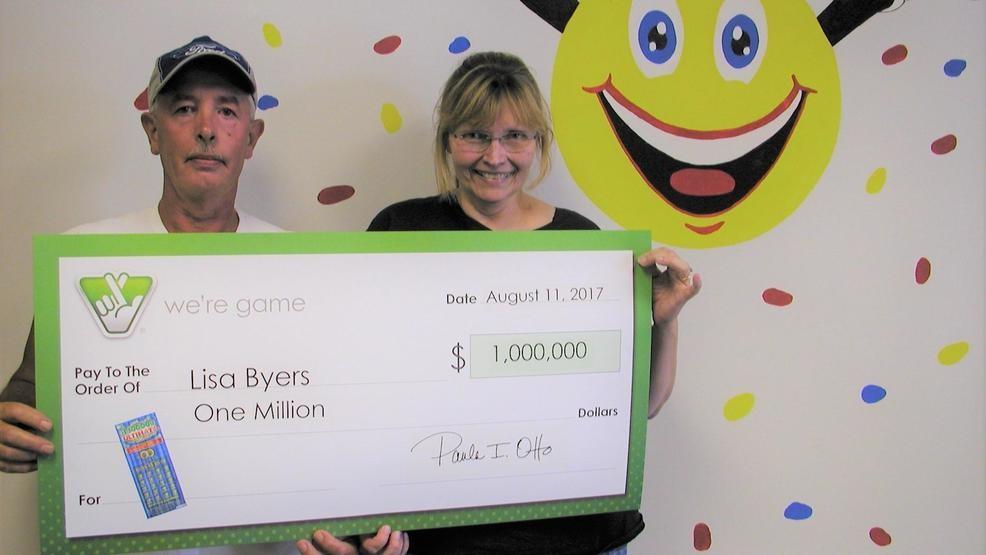 Bedford Co. woman wins $1 million in scratch off ticket