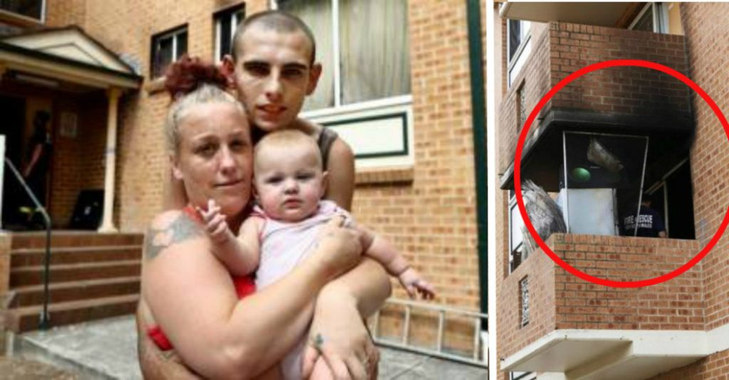 Mother Was Forced to Drop Her 7-Month-Old Baby From Burning Building