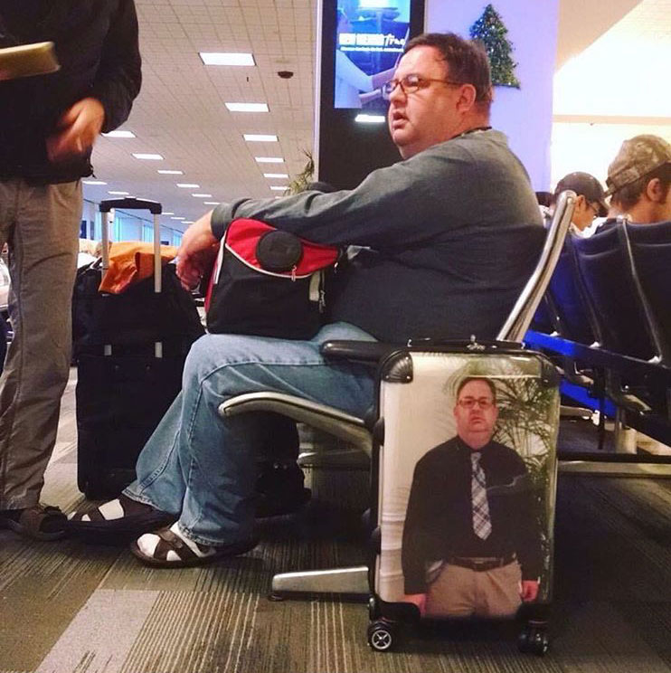 This man's travel hack is the best thing you'll see all day