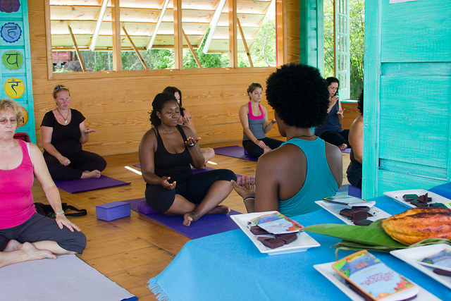 Explore the mystery with Chocolate Yoga