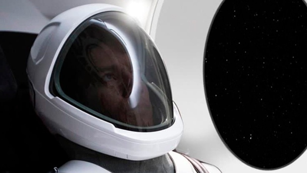 Elon Musk reveals first official photo of SpaceX space suit