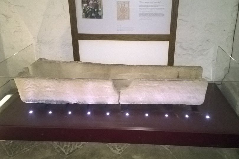 Family Damages 800-year-old coffin after placing child in it for photo
