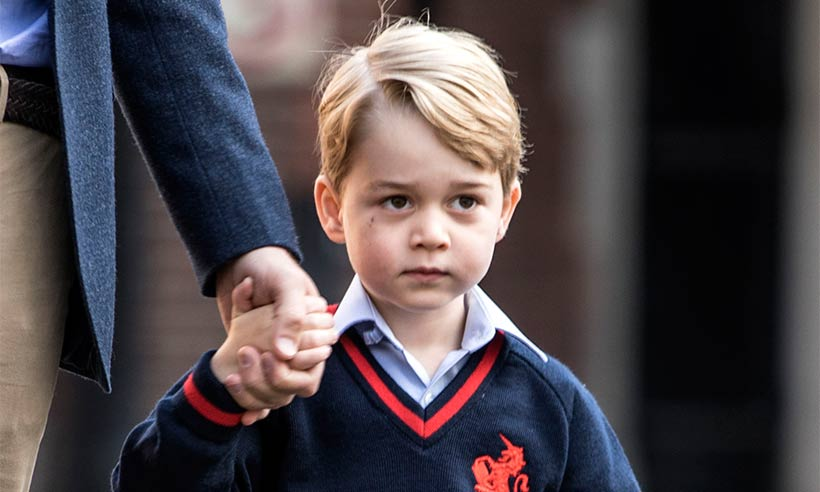 See what Prince George will be eating at his new school