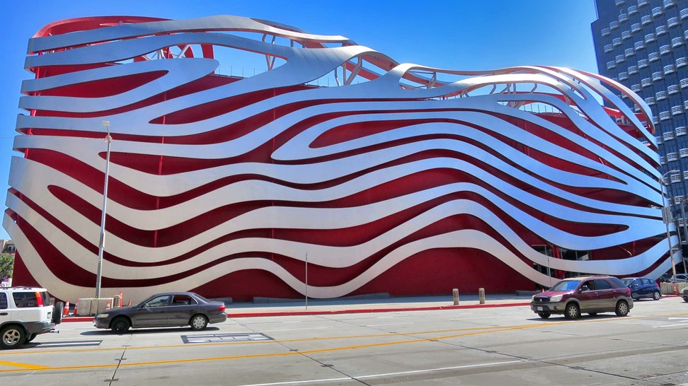 Petersen Automotive Museum. Must-see for car lovers and non-car lovers!