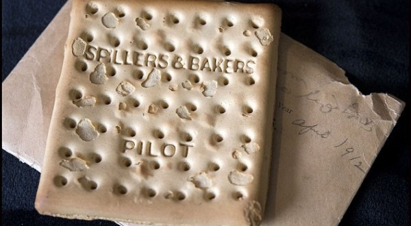 The worlds most expensive biscuit survived the sinking of Titanic