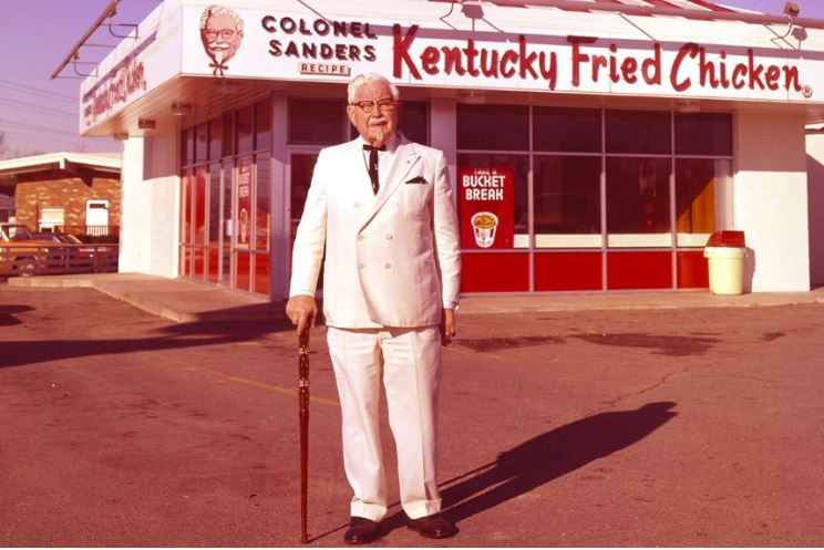 Never give up! With that one success Colonel Sanders changed the way Americans eat chicken