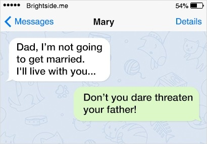 10 Of The Most Hilarious Texts From Dads