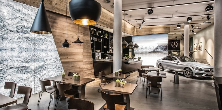 Mercedes me store in Melbourne won't focus on selling cars
