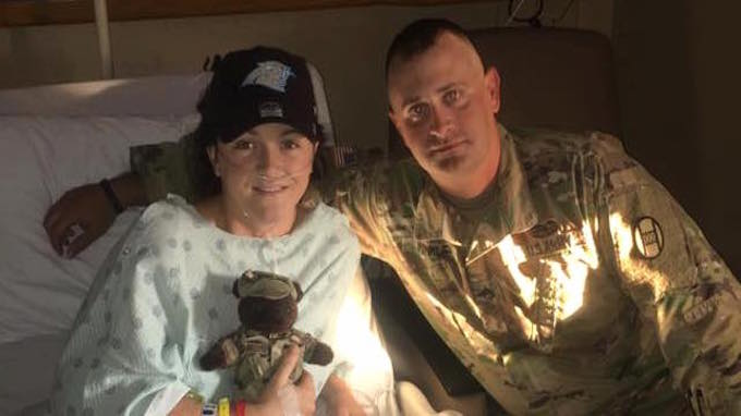 NC soldier  Rescues Woman From Burning Car minutes Before It Exploded
