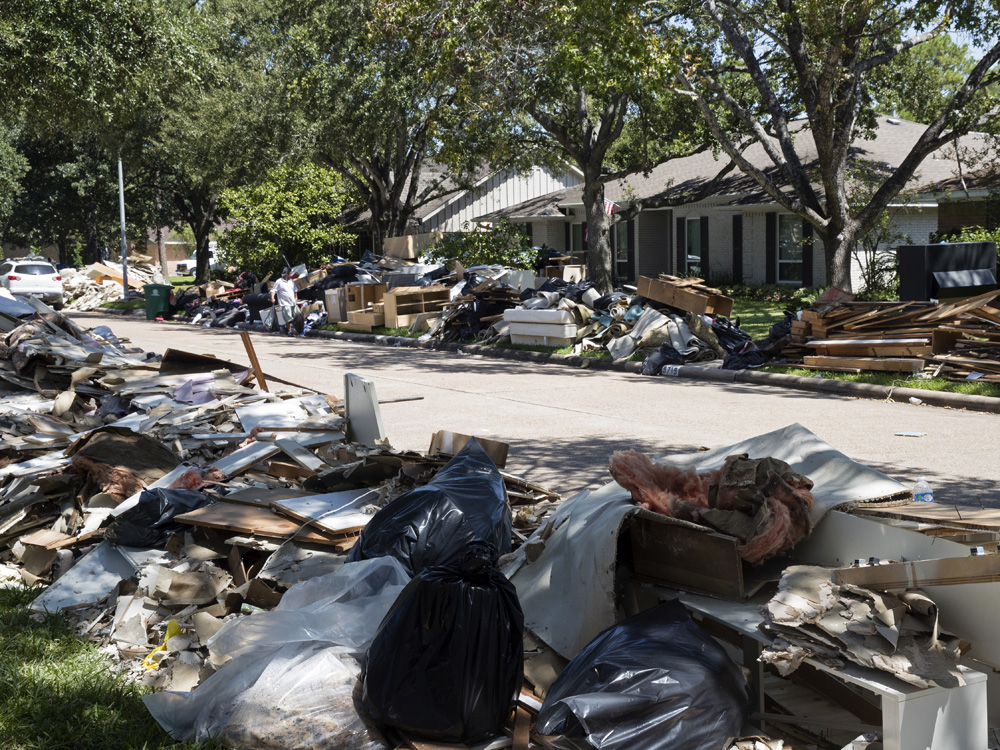 A man who helped repair Harvey-flooded homes died of flesh-eating bacteria