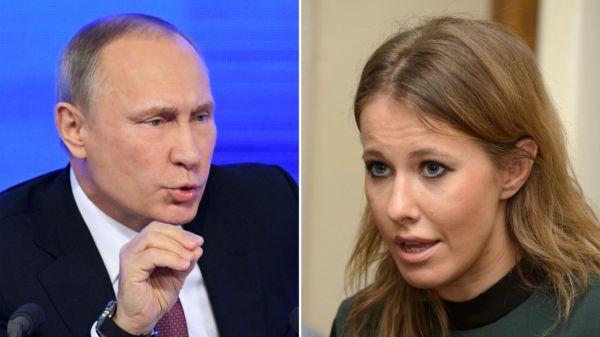 Russian opposition candidate Ksenia Sobchak says she won't sling mud at Putin