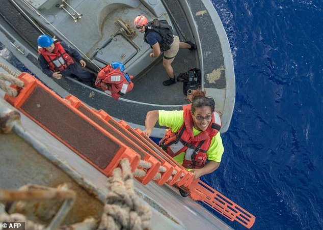 Two American Women  and their dogs rescued after five months in Pacific Ocean