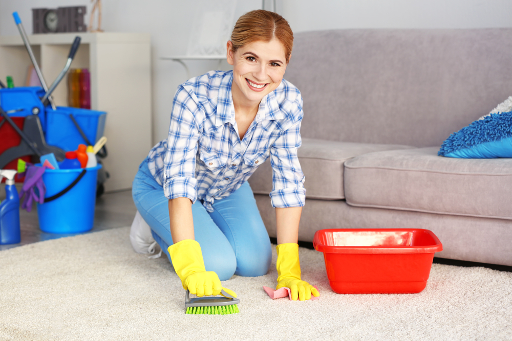 These Ordinary Ingredients  May Help Clean A Dirty Carpet