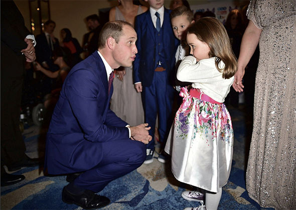 Prince William was inspired by the actions of a five-year-old hero, who made life-saving 999 call
