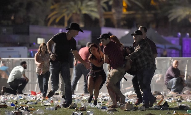 Las Vegas shooting leaves 20 dead and over 100 injured after gunman opens fire at concert at Mandalay Bay casino