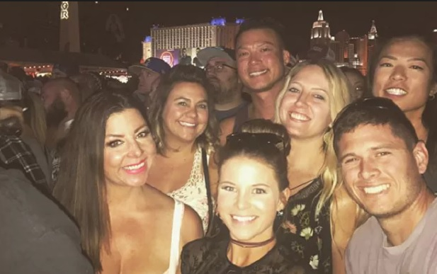 Las Vegas shooting survivor's emotional  thanks to brave strangers who helped save her life