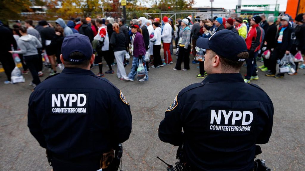 Students and workers in Lower Manhattan thought New York terror attack was 'Halloween prank'