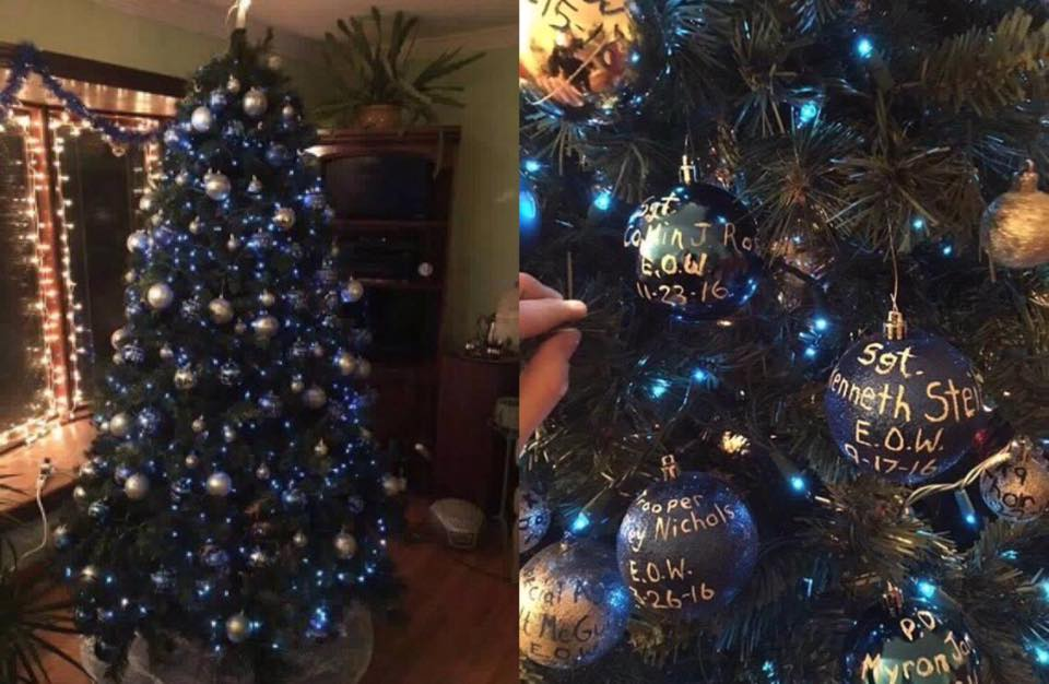 Ohio police officers were Shocked To See What Was Hidden On Christmas Tree