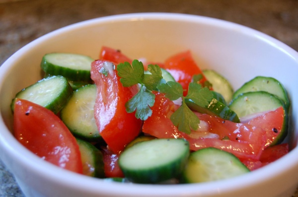 Experts warn 'cucumbers and tomatoes are not compatible and should never be consumed together'