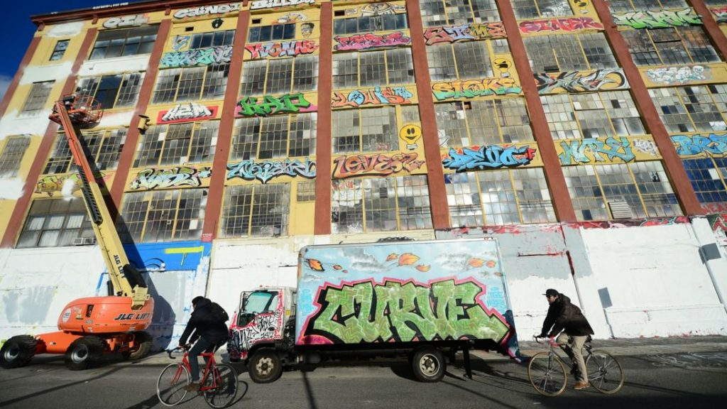 Graffiti could be made legal as US artists sue developer in landmark case