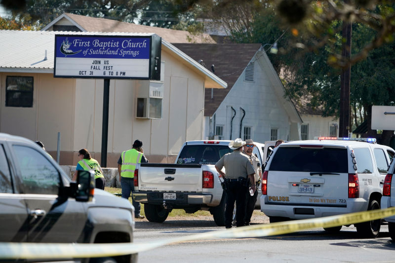At Least 26 People Killed in Texas Church Shooting