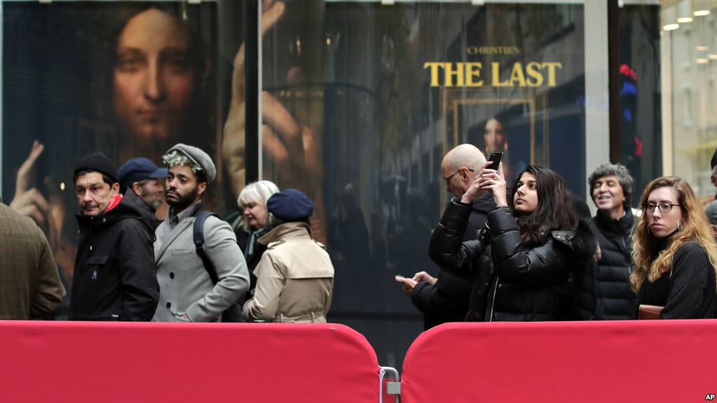 Rare Da Vinci painting smashes world records with $450 million sale
