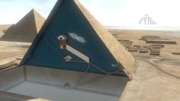 Virtual Reality Tour Allows Users to 'teleport' themselves into the Grand Pyramid of Giza