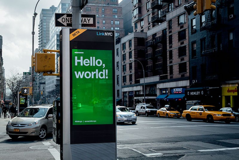 Give Santa your Xmas gift requests on LinkNYC's WiFi kiosks