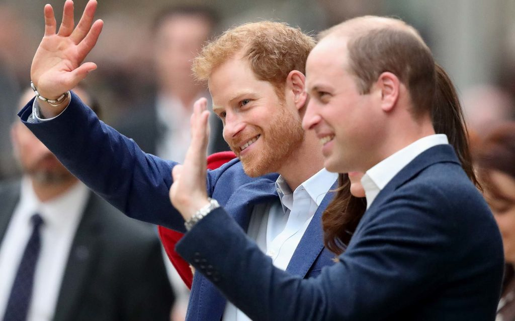 Prince William hilariously responds to his younger brother's engagement