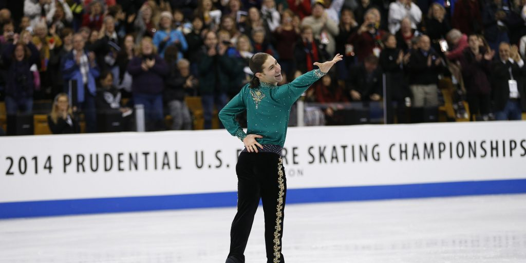 Olympic Skater Brings Entire Stadium To Their Feet. Absolutely incredible to watch