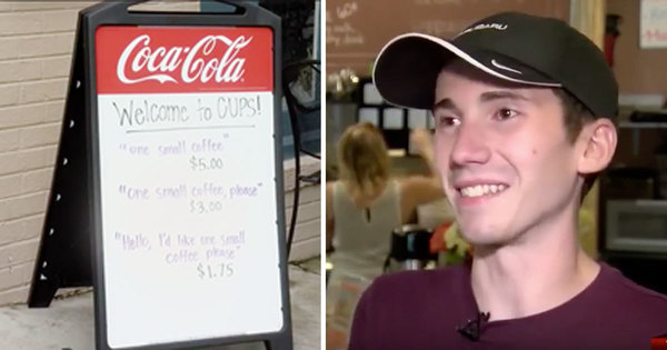 Waiter's  innovative ploy to get customers to be more friendly  captures worldwide attention