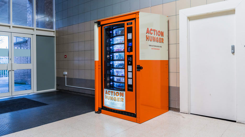 First vending machine for homeless people launches in UK