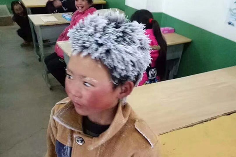 """Boy Walks 4.8 Km In Freezing Cold To Attend His School. Heart-breaking story behind  the """"Snowflake Boy"""""""
