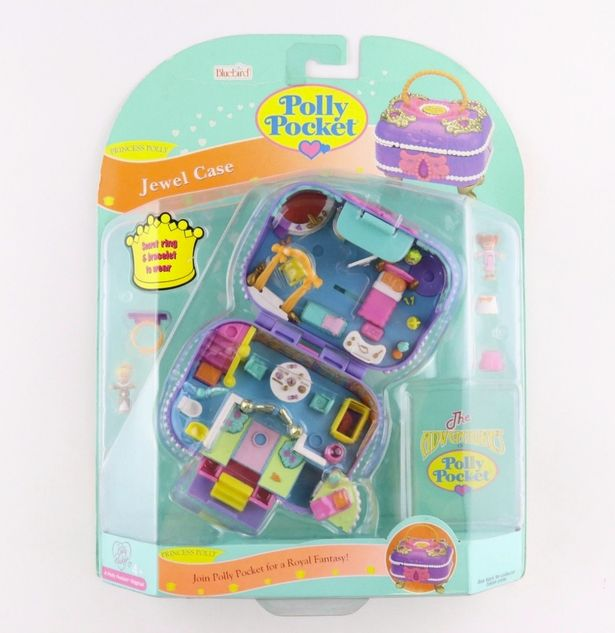 Vintage Polly Pocket toys are being sold on eBay for £7000