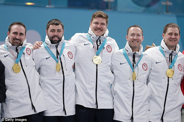 US men's curling team handed wrong gold medals at Olympics medal ceremony